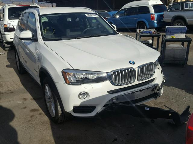 2015 Bmw X3 Sdrive28i For Sale Ca Sun Valley Salvage Cars