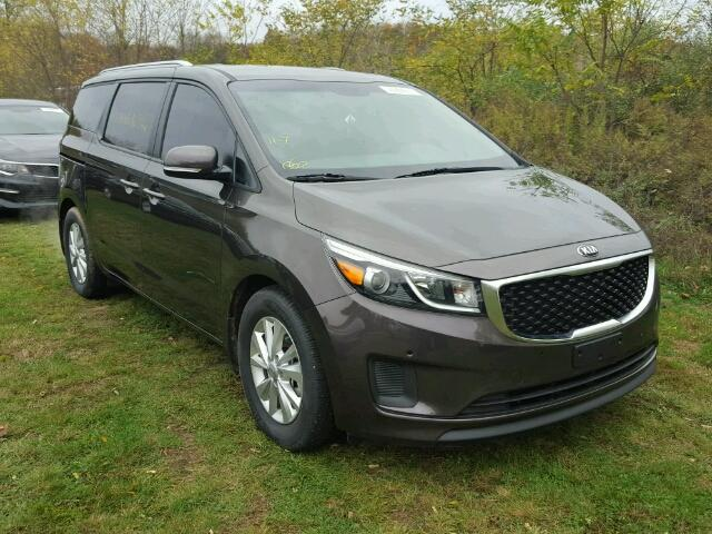 2017 kia sedona lx for sale ny newburgh salvage cars copart usa. Black Bedroom Furniture Sets. Home Design Ideas