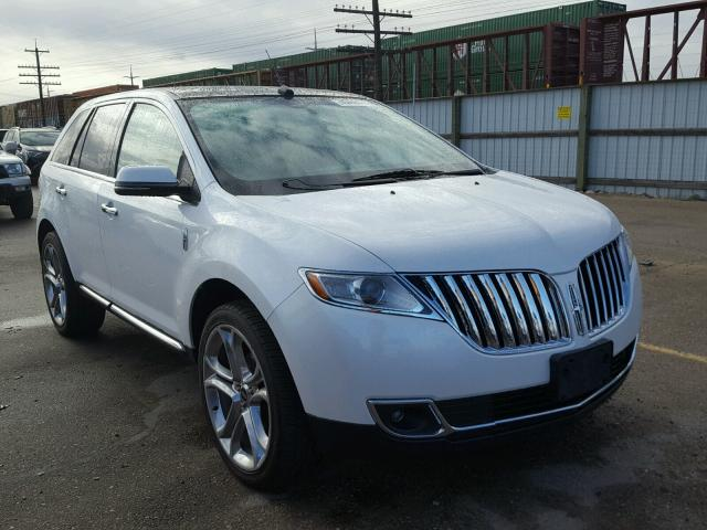 Auto Auction Ended On Vin 2lmdj8jk4ebl04242 2014 Lincoln Mkx