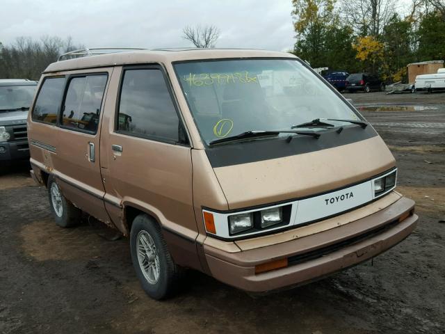 1985 TOYOTA VAN WAGON 2.0L