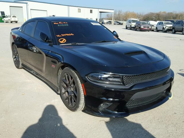 2016 dodge charger r t scat pack for sale ks kansas city salvage cars copart usa. Black Bedroom Furniture Sets. Home Design Ideas