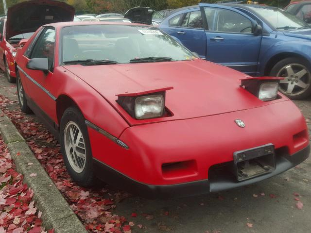 1986 PONTIAC FIERO SE 2.8L