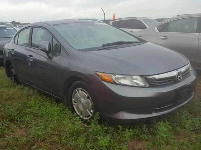 2012 HONDA CIVIC HF 1.8L