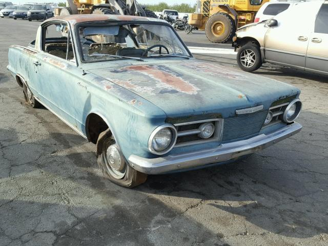 Auto Auction Ended on VIN: 1852502958 1965 Plymouth Barracuda in CA