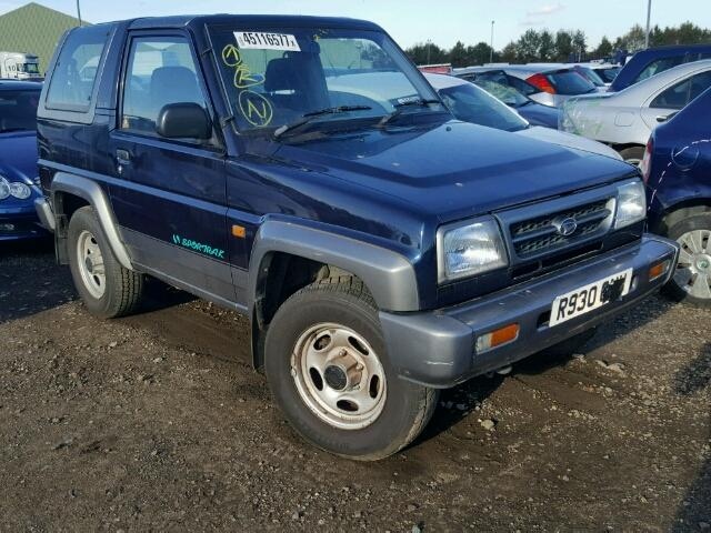 Photos For 1997 Daihatsu Sportrak E Salvage Car Auctions Uk