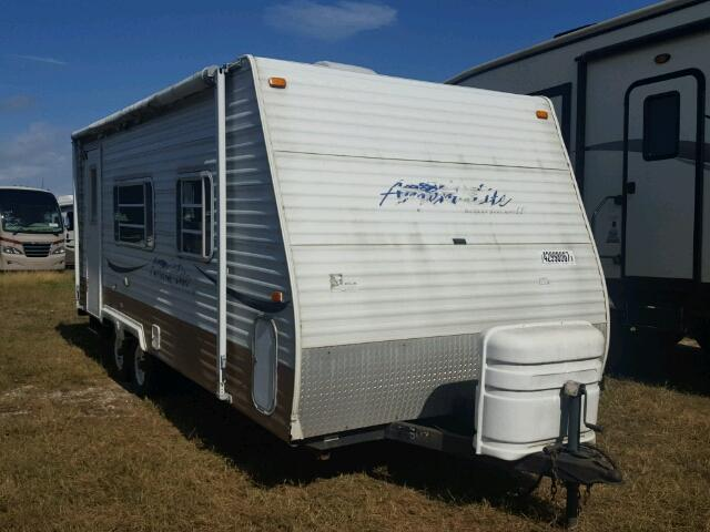 Gulfstream Travel Trailer salvage cars for sale: 2005 Gulfstream Travel Trailer