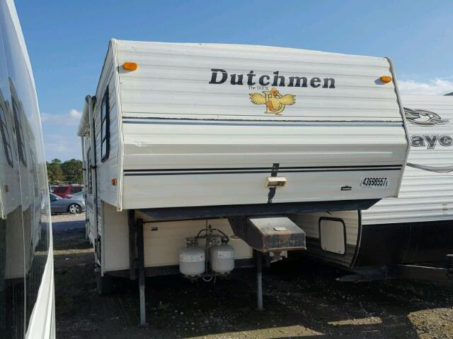 1994 dutchman Travel Trailer Manual