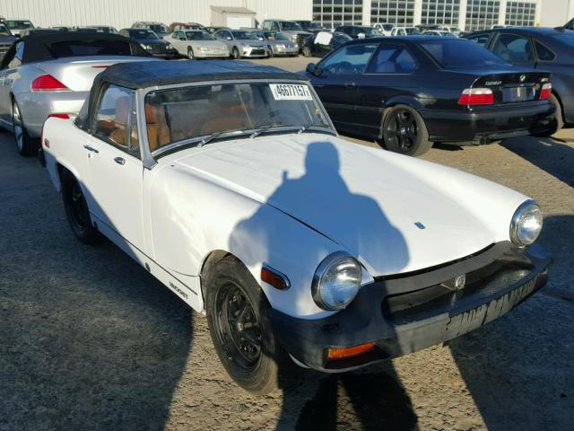 Auto Auction Ended on VIN: GAN6UF162741G 1975 Mg Midget in CA ...