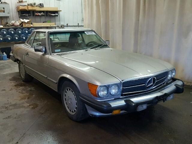 1986 MERCEDES-BENZ 560 5.5L