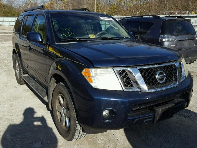 Auto Auction Ended On Vin 5n1ar18b59c606018 2009 Nissan Pathfinder