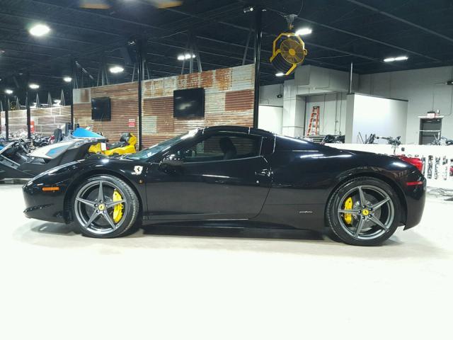 2014 Ferrari 458 Spider For Sale Tx Crashedtoys Dallas Salvage