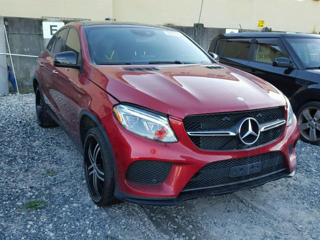 2016 MERCEDES-BENZ GLE COUPE 3.0L