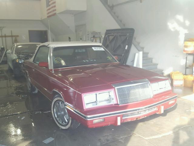 1986 DODGE 600 2.2L