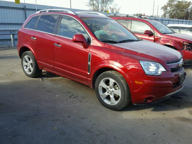 2014 CHEVROLET CAPTIVA LT 2.4L