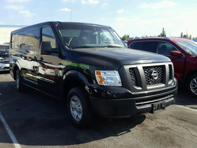 2014 nissan nv 1500 for sale ca rancho cucamonga salvage cars copart usa. Black Bedroom Furniture Sets. Home Design Ideas