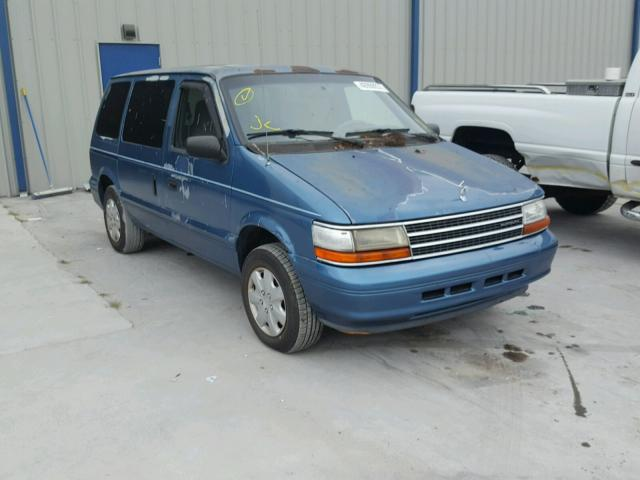 1995 PLYMOUTH VOYAGER 3.0L