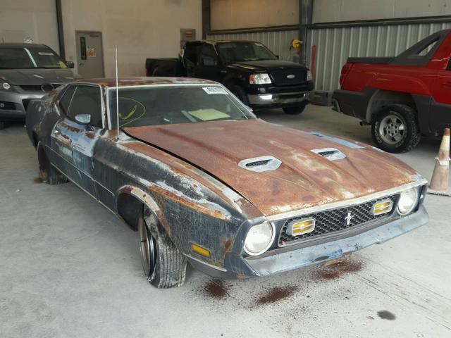 Auto Auction Ended On Vin 2fu5h186697 1972 Ford Mustang In Tx Austin