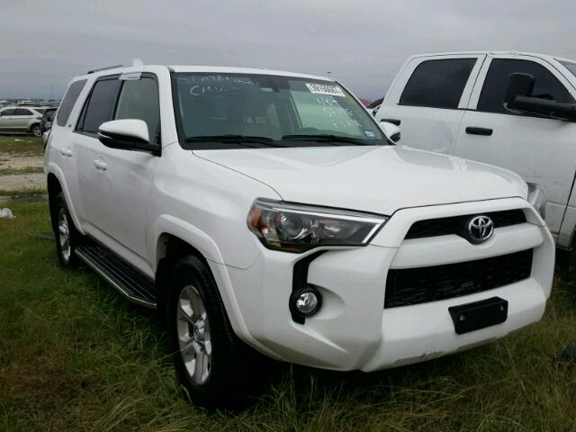2015 toyota 4runner sr5 for sale tx houston salvage cars copart usa. Black Bedroom Furniture Sets. Home Design Ideas