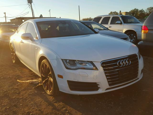 Audi A7 salvage cars for sale: 2012 Audi A7