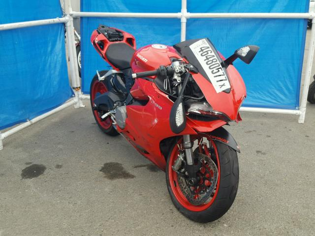 ZDM14BUW0FB027123 | 2015 RED DUCATI SUPERBIKE on Sale in CA ...