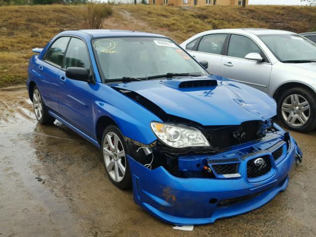 Salvage 2006 Subaru IMPREZA WR for sale