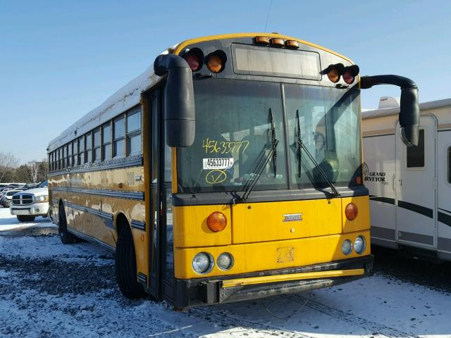 2004 Thomas School Bus For Sale At Copart Ham Lake Mn Lot