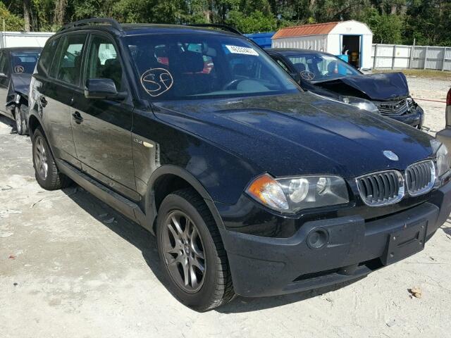 2004 BMW X3 2.5L