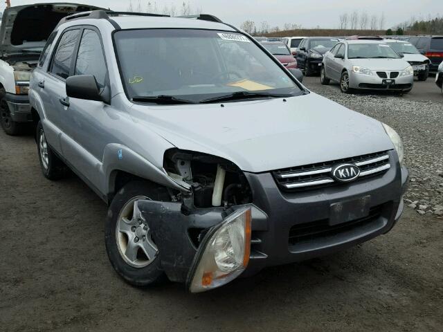Auto Auction Ended On Vin Kndjf723587468344 2008 Kia Sportage E In On Toronto