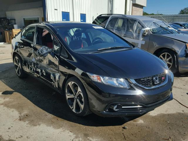 2015 honda civic si for sale al montgomery salvage. Black Bedroom Furniture Sets. Home Design Ideas