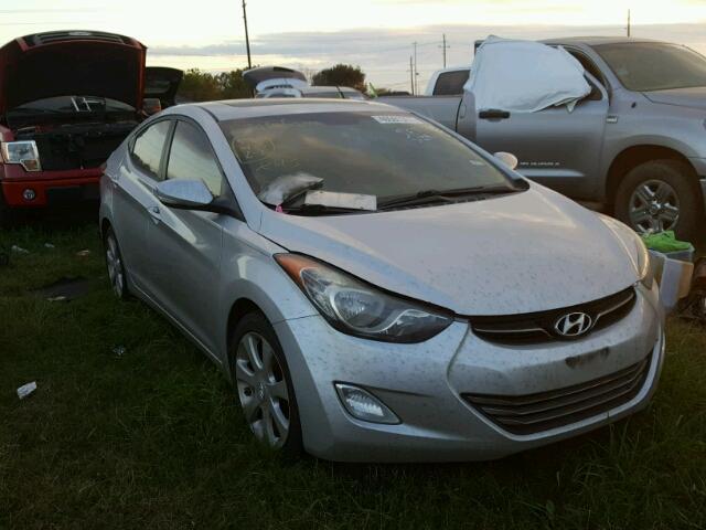 2012 Hyundai Elantra Gls For Sale Tx Houston Salvage