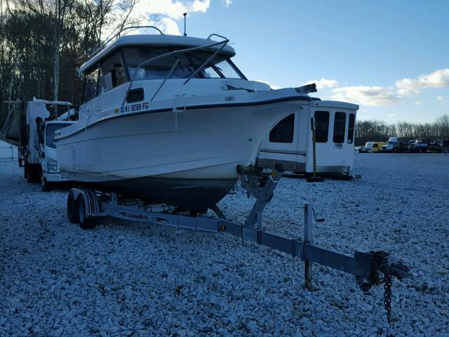 Salvage 2001 Trophy BOAT for sale