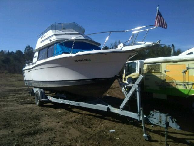 Salvage 1986 Carver MARINE TRAILER for sale