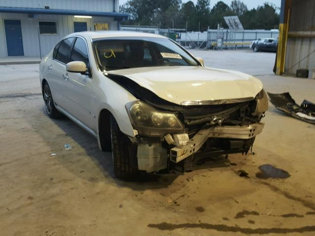 Auto Auction Ended On Vin Jnkby01ex6m208592 2006 Infiniti M45 Base
