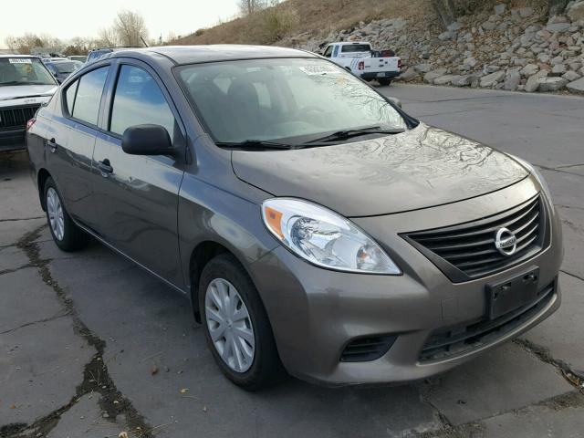Salvage cars for sale from Copart Littleton, CO: 2014 Nissan Versa S