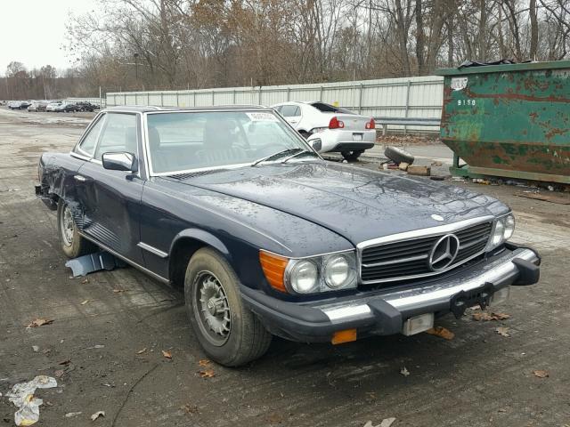 1984 MERCEDES-BENZ 380 SL 3.8L