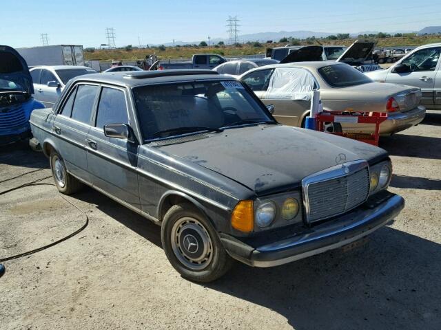 1983 MERCEDES-BENZ 240 D 2.4L