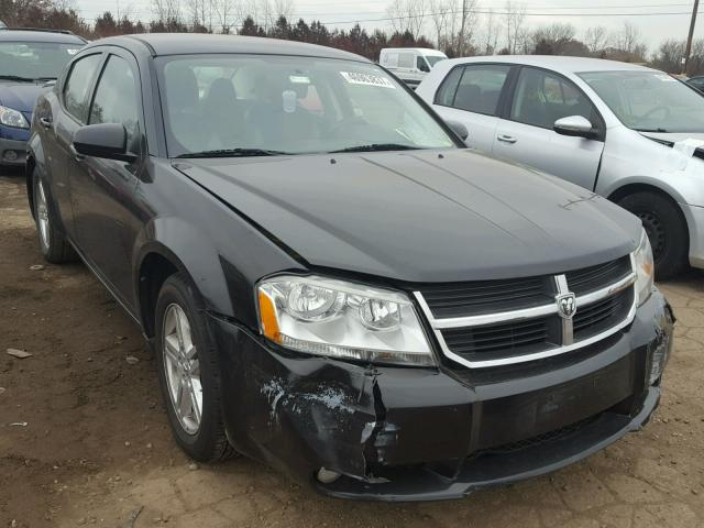 2010 dodge avenger r t for sale mi detroit salvage cars copart usa. Black Bedroom Furniture Sets. Home Design Ideas