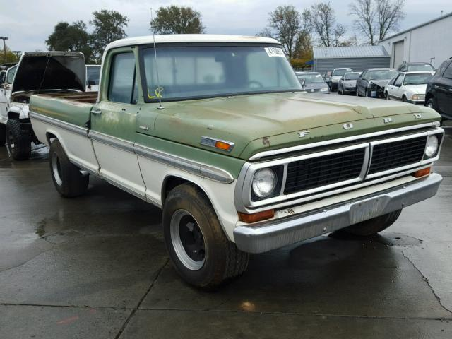 Auto Auction Ended On Vin F25hrh15090 1970 Ford Truck In Ca