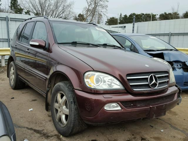 2002 MERCEDES-BENZ ML 500 5.0L