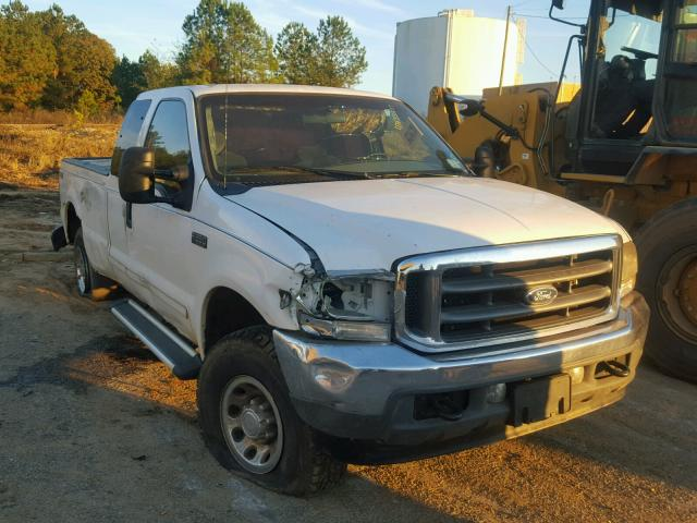 Salvage 2002 Ford F250 SUPER for sale