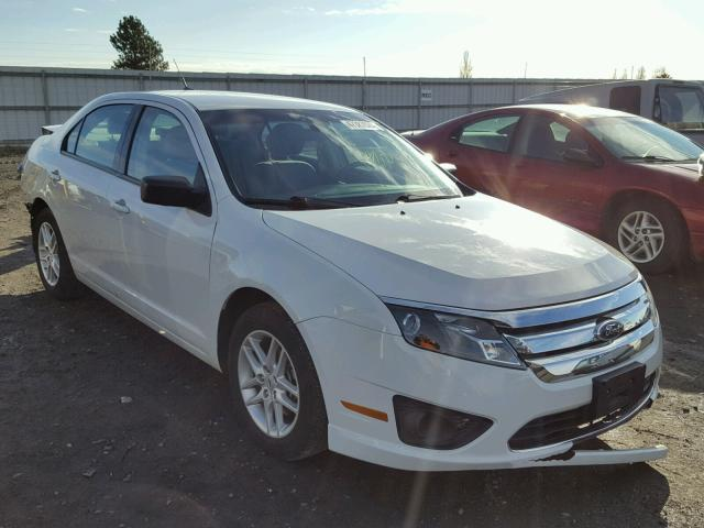 2012 FORD FUSION S 2.5L