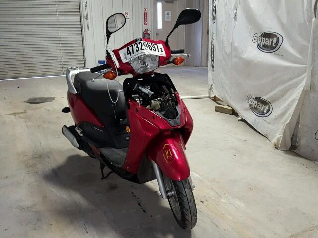 2010 HONDA NHX110 1