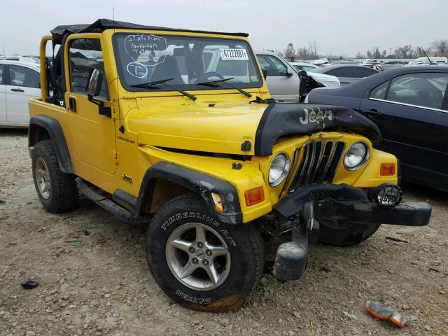 auto auction ended on vin 1j4fa29p61p335169 2001 jeep wrangler in mo st louis. Black Bedroom Furniture Sets. Home Design Ideas
