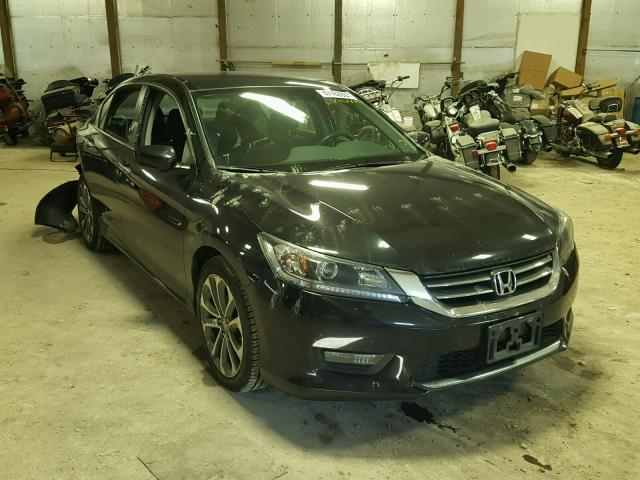 2014 honda accord sport for sale in fort wayne salvage cars copart usa. Black Bedroom Furniture Sets. Home Design Ideas