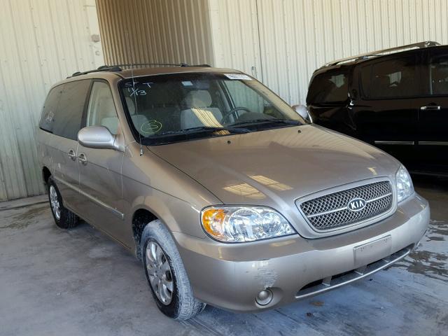 2005 KIA SEDONA EX 3.5L
