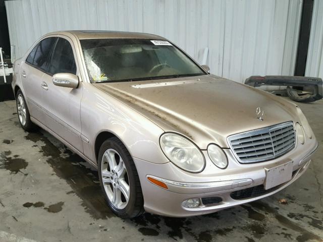 2004 MERCEDES-BENZ E 500 5.0L