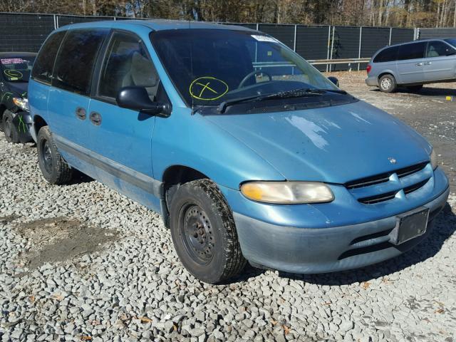 1998 Dodge Caravan Se 3 3l