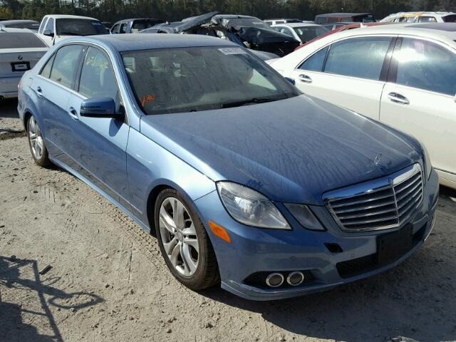 2011 MERCEDES-BENZ E 550 5.5L