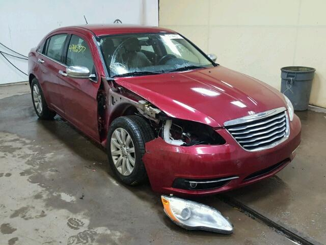 2013 CHRYSLER 200 LIMITE 3.6L