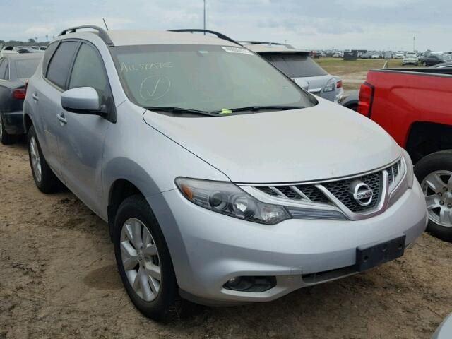Salvage 2013 Nissan MURANO for sale